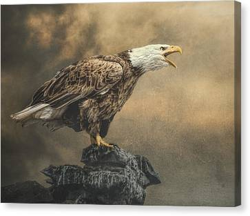 Canvas Print featuring the photograph Call Of The Wild by Brian Tarr