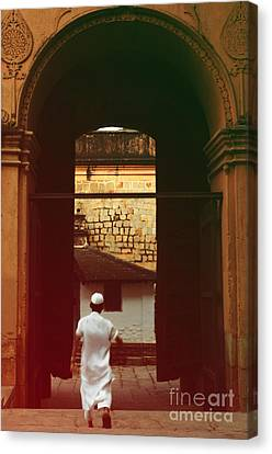 Canvas Print featuring the photograph Call To Prayer by Mini Arora