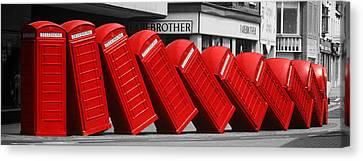 Call Waiting Canvas Print by John Topman