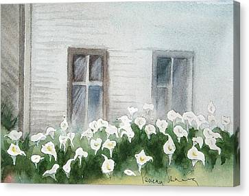 Callas By  Shack Canvas Print