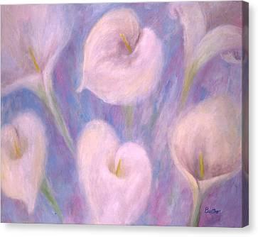 Callas Canvas Print