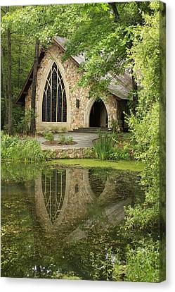 Canvas Print featuring the photograph Callaway Gardens Chapel - Pine Mountain Georgia by Mountains to the Sea Photo
