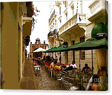 Calle Cristo Canvas Print by The Art of Alice Terrill