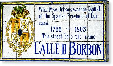 Calle D Borbon Canvas Print by David Morefield