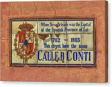 Called Conti Canvas Print