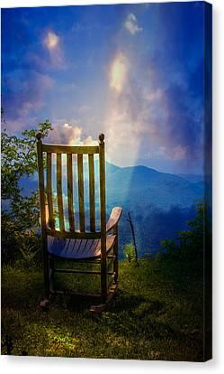 Western North Carolina Canvas Print - Just Imagine by John Haldane