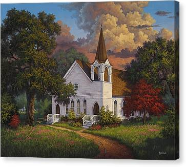 Called To Praise Canvas Print by Kyle Wood