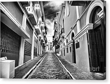Callejon Canvas Print by John Rizzuto