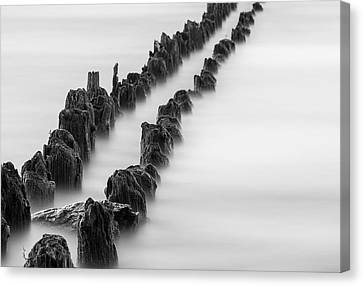 Calm Across The River Canvas Print by Kunal Mehra