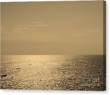 Calm Arabian Sea Canvas Print