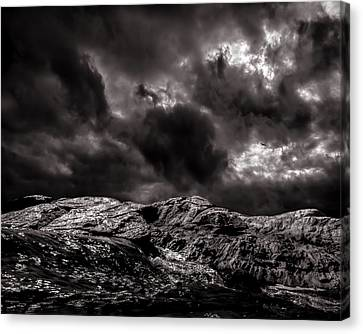 Calm Before The Storm Canvas Print by Bob Orsillo
