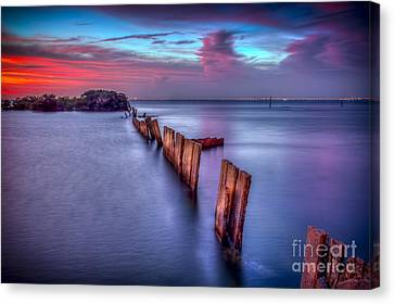 Calm Before The Storm Canvas Print by Marvin Spates