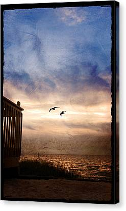 Calm Canvas Print by Beverly Stapleton
