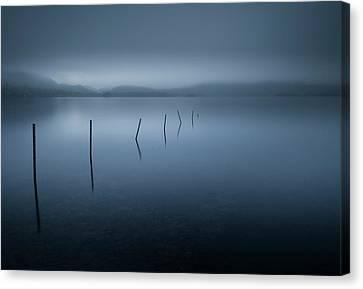 Blue Hour Canvas Print - Calm by David Ahern