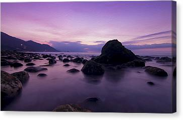 Calm Evening Canvas Print by Aged Pixel