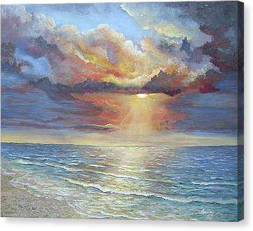 Calm Canvas Print by Luczay