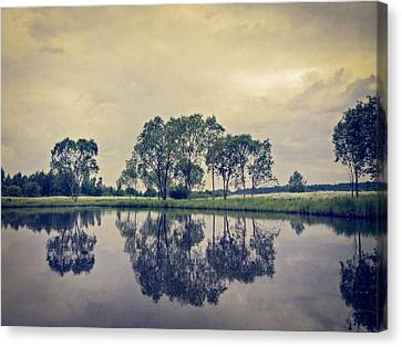 Calm Summer Day Canvas Print by Ari Salmela