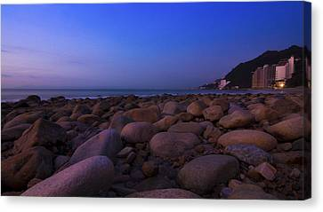 Calm Summer Night Canvas Print by Aged Pixel