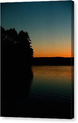 Calm Sunrise Canvas Print by Ben Kotyuk