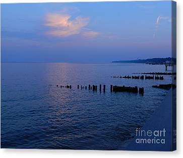 Calming Seas Canvas Print by Emmy Marie Vickers