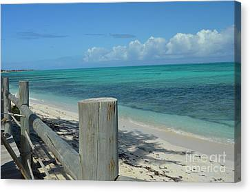 Canvas Print featuring the photograph Calming Waters by Judy Wolinsky
