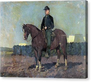 Calvary Soldier Canvas Print