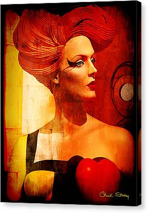 Calypso Mama Canvas Print by Chuck Staley