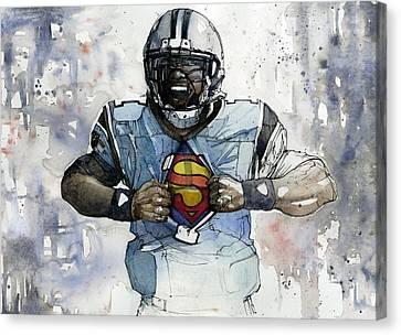Panthers Canvas Print - Cam Kent by Michael  Pattison