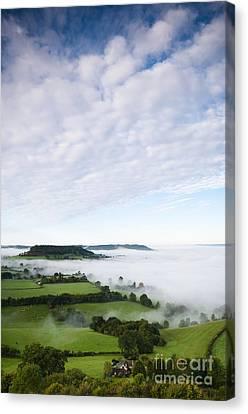 Cam Long Down Canvas Print by Anne Gilbert