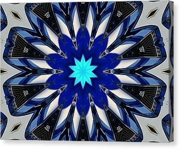Camaro Kaleidoscope Canvas Print by Victor Montgomery