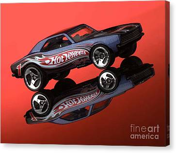 Camaro4-2 Canvas Print by Gary Gingrich Galleries