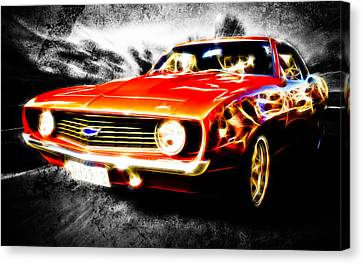 Camaro'd Canvas Print by Phil 'motography' Clark