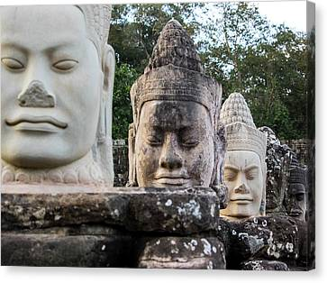 Angkor Thom Canvas Print - Cambodia, Angkor Watt, Siem Reap by Terry Eggers