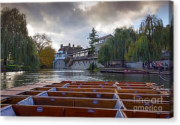 Cambridge River Canvas Print by Svetlana Sewell