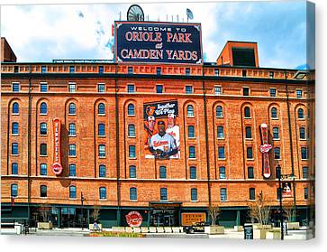 Camden Yards Canvas Print by Bill Cannon