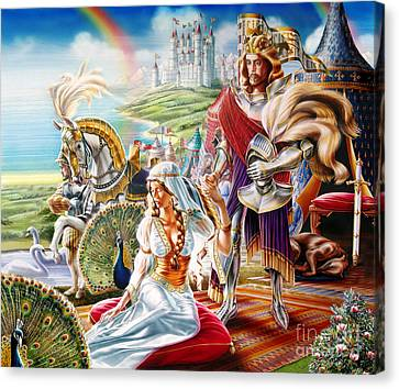 Camelot Canvas Print by Adrian Chersterman