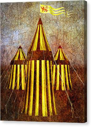 Camelot Restrained Canvas Print by Bob Orsillo