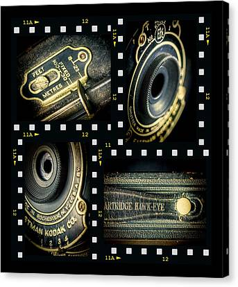 Camera Collage Canvas Print by Rudy Umans
