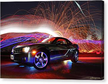 Camero Rs Canvas Print