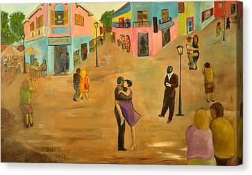 Caminito  Canvas Print