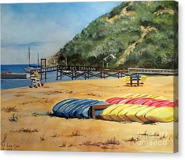 Camp Del Corazon  Canvas Print by Lee Piper
