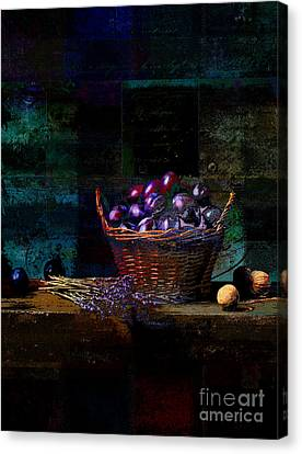 Campagnard - Rustic Still Life - S02bd Canvas Print by Variance Collections