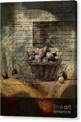 Campagnard - Rustic Still Life - S02sp Canvas Print by Variance Collections