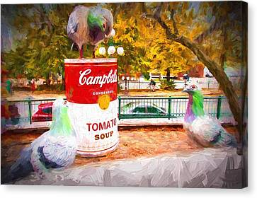 Campbell's Soup Canvas Print by Bill Howard