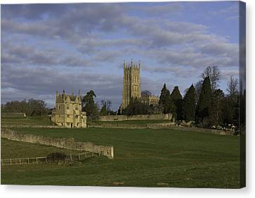 Campden House And St James Church Canvas Print by Wendy Chapman
