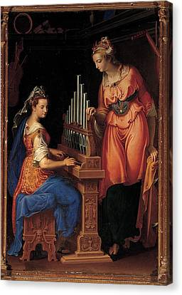 Campi Bernardino, Sts Cecilia Canvas Print by Everett