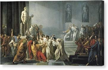 Cesare Canvas Print - Camuccini, Vincenzo 1771-1844. The by Everett