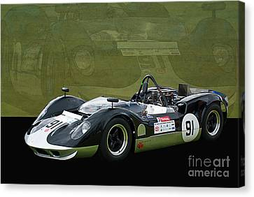 Can-am Mclaren M1b Canvas Print