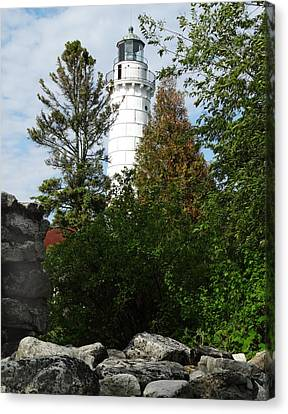 Cana Island Lighthouse 2 Canvas Print