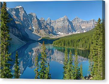 Canada, Banff National Park, Valley Canvas Print